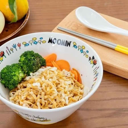 MOOMIN嚕嚕米 慢慢吃拉麵碗4組入