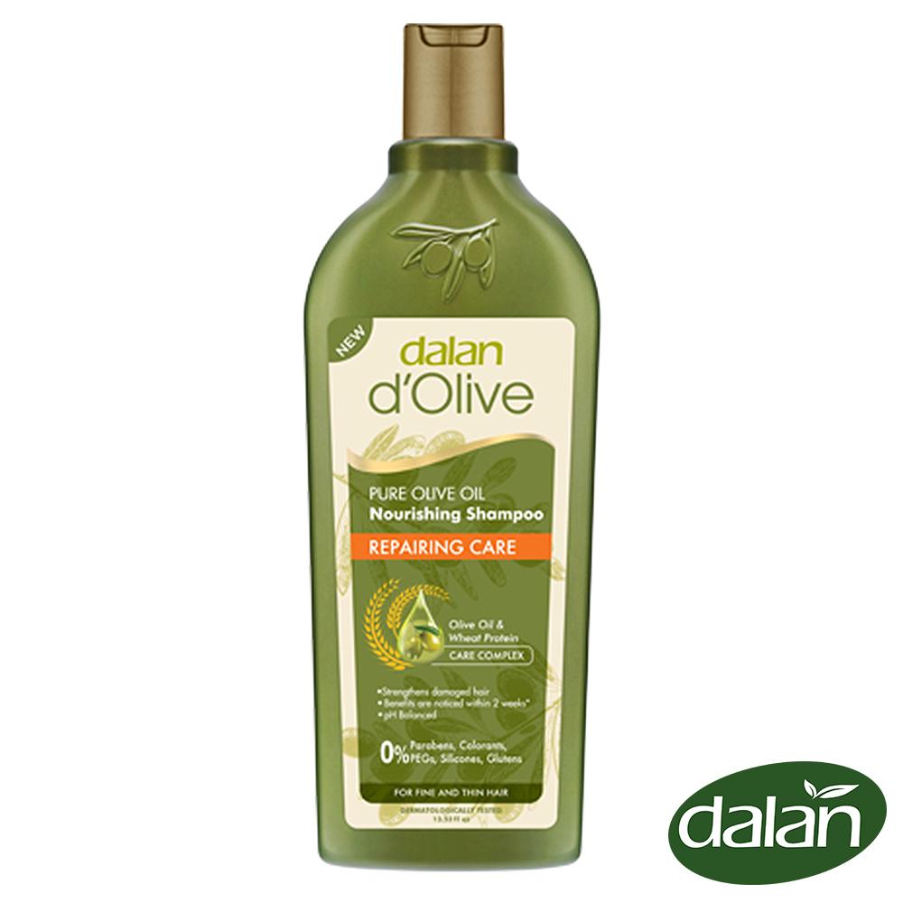 【土耳其dalan】頂級橄欖油小麥蛋白修護洗髮露(乾燥/ 受損) 400ml