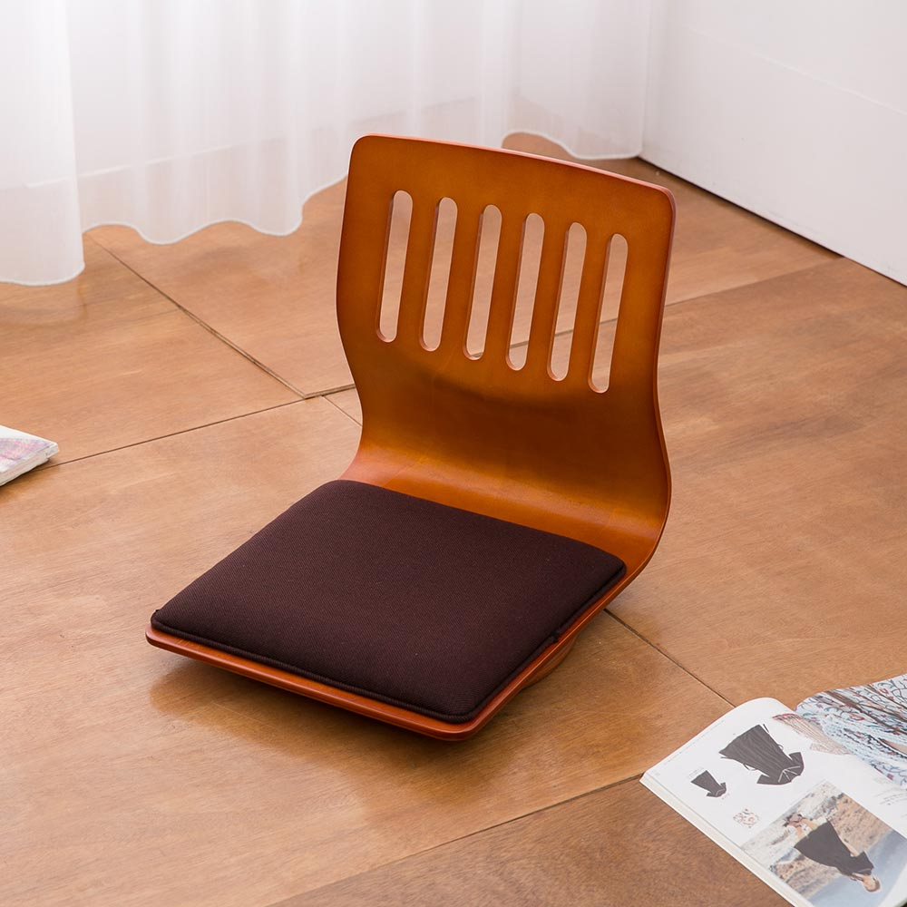凱堡 羅丹曲木旋轉和室椅(2入)