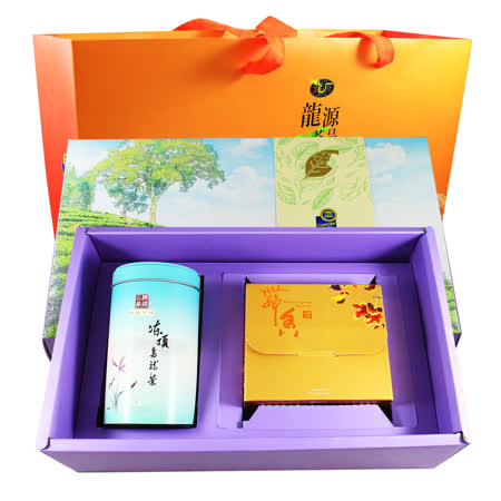 【龍源】 金萱茶包 +烏龍茶葉禮盒