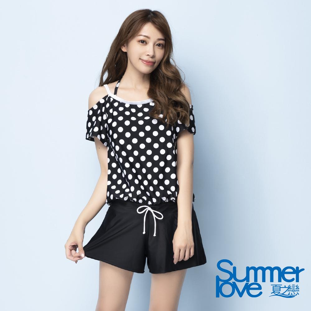 夏之戀SUMMERLOVE 連身褲三件式泳衣S20707