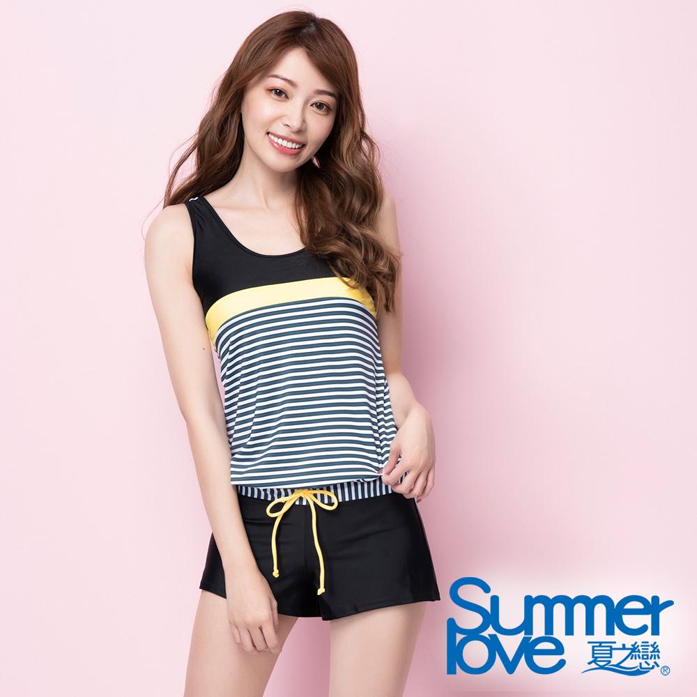 夏之戀SUMMERLOVE 連身褲二件式泳衣S20716