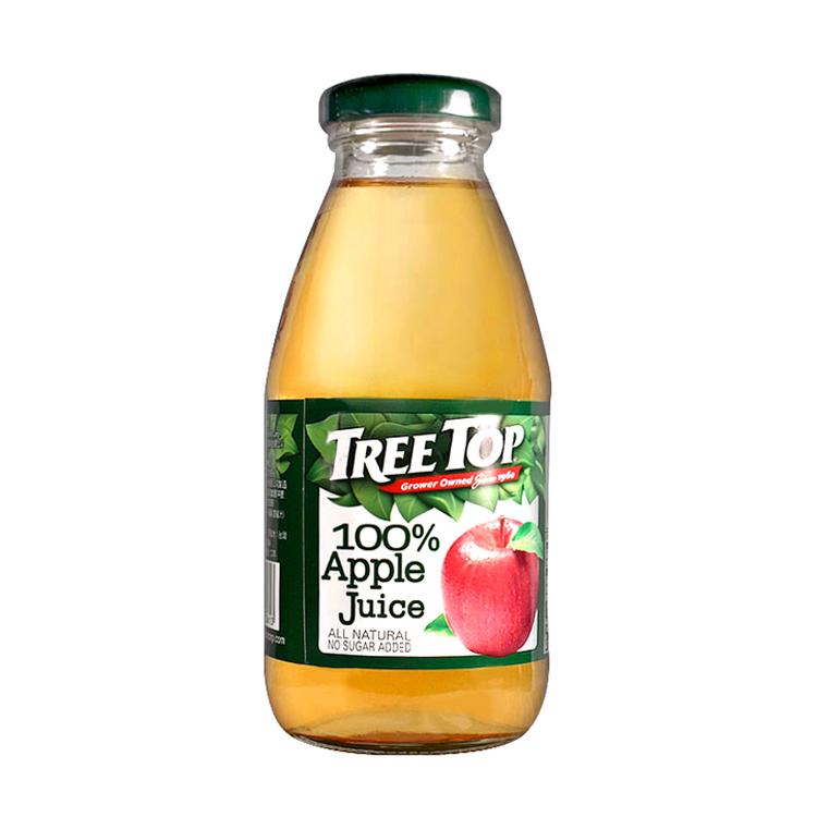 箱購【TreeTop 樹頂】蘋果汁300ml / 24入