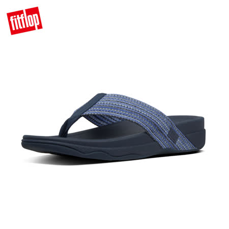 FitFlop 多彩寬織帶夾腳涼鞋