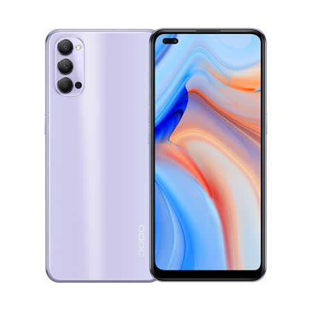 OPPO Reno 4 8G/128G 6.4 吋八核心手機-香芋紫