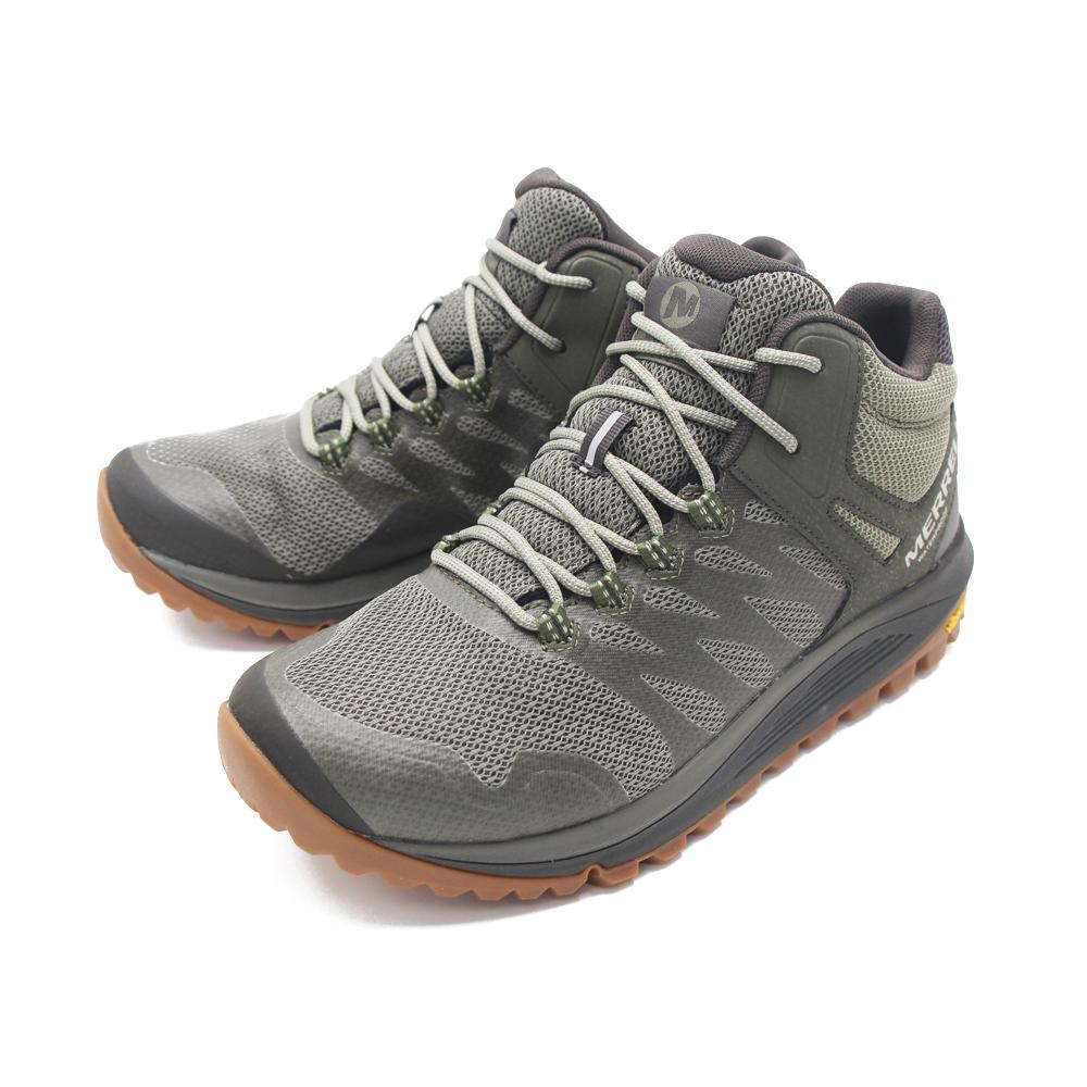 MERRELL (男)NOVA 2 MID WATERPROOF高筒郊山健行鞋 -橄欖綠(另有黑)