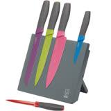 《KitchenCraft》磁吸刀座+刀具5件