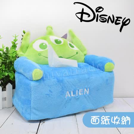 【迪士尼Disney】 三眼怪沙發衛生紙盒