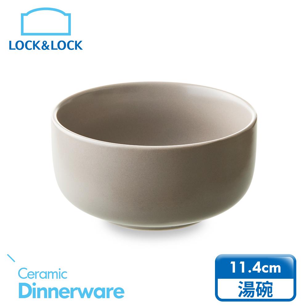 【樂扣樂扣】莫蘭迪瓷器 個人湯碗 (燕麥色)