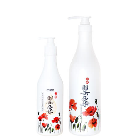 MIAU 上癮罌粟香氛 3效洗髮/護髮保養組