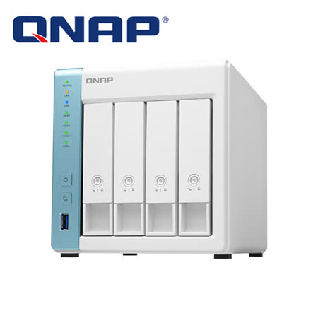 QNAP 威聯通 TS-431K  4Bay 網路儲存伺服器