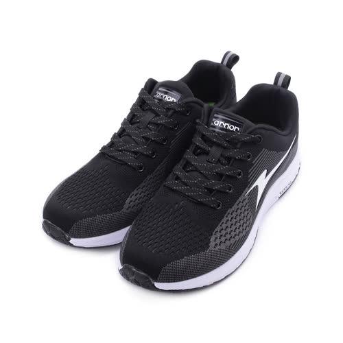 ARNOR 極速風暴 飛織慢跑鞋 黑 ARMR93260 男鞋
