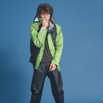 OutPerform-頂峰兩截式背包雨衣-草綠