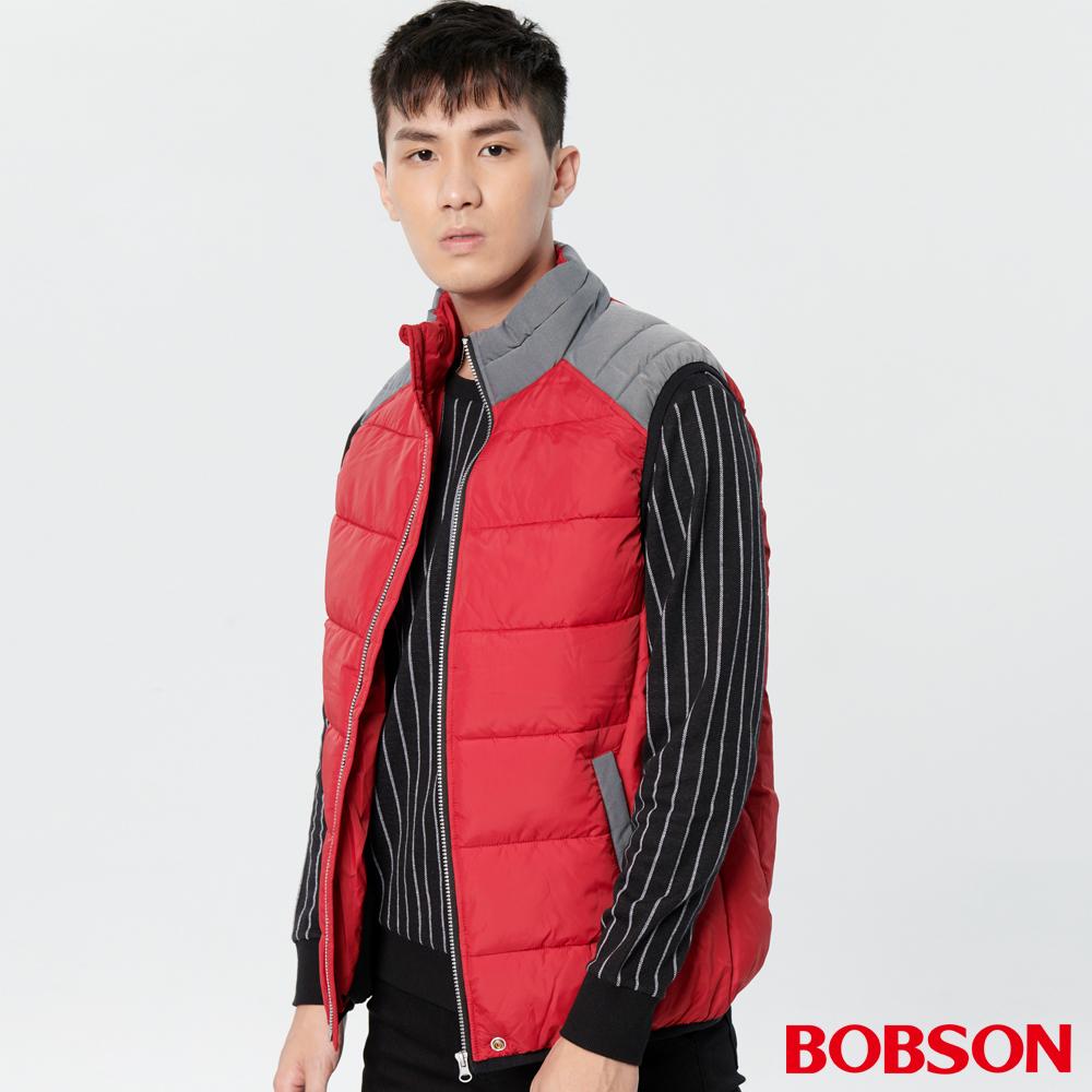 BOBSON男款絲棉背心(38030-13)