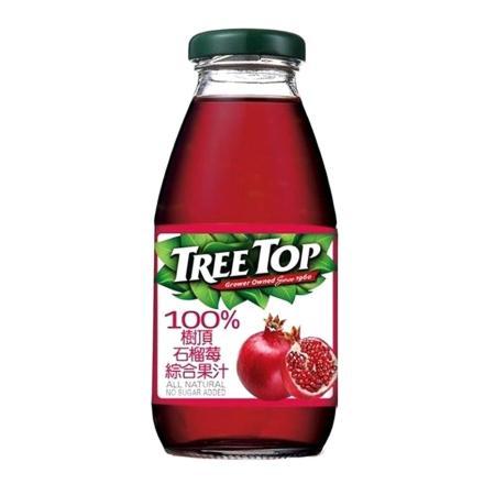 【樹頂】石榴莓 綜合果汁300ml / 24入