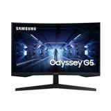 SAMSUNG三星 Odyssey G5 C27G55TQWC 27型 1000R 2K VA曲面 電競螢幕