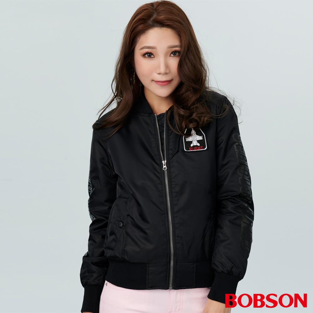 BOBSON 女款鋪棉棒球外套  (38103-88 )