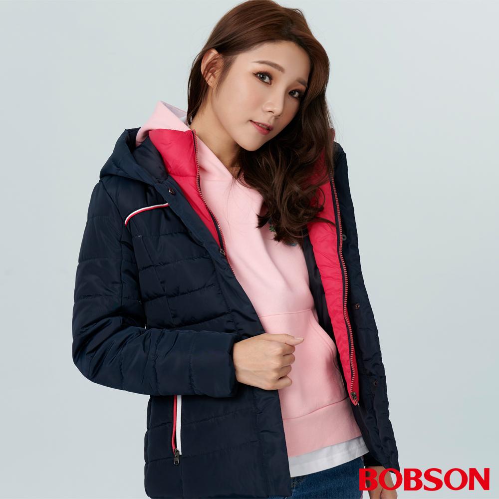 BOBSON 女款連帽鋪棉外套 (38105-53 )