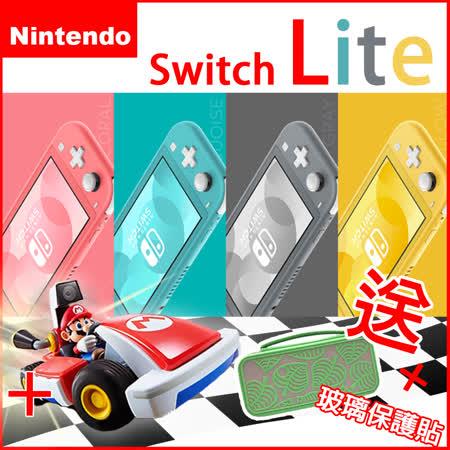 Switch Lite 主機+ 瑪利歐賽車實況