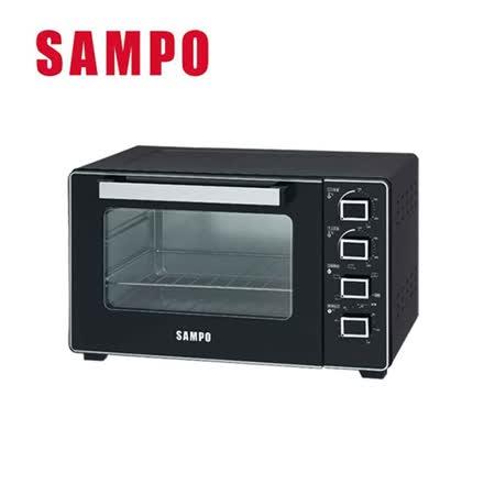 SAMPO聲寶 32公升雙溫控旋風烤箱