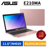 ASUS E210MA-0031PN4020 玫瑰金 (11.6吋/N4020/4G/64G/W10HS)