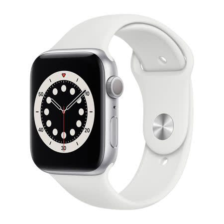 Apple Watch S6 GPS 44mm 銀色