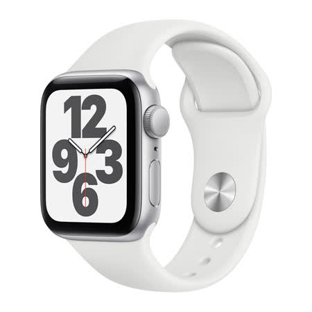 Apple Watch SE GPS 44mm - 銀色
