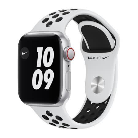 Apple Watch Nike SE GPS 44mm - 銀色