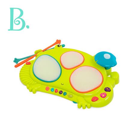 美國B.Toys感統玩具 蛙聲道電子鼓