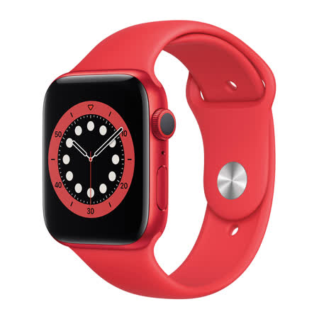 Apple Watch S6 LTE 44mm 紅色