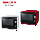 (夜殺)SHARP 夏普 30L HEALSIO雙層燒烤 紅外線濕度溫度感應水波爐 AX-XP5T-