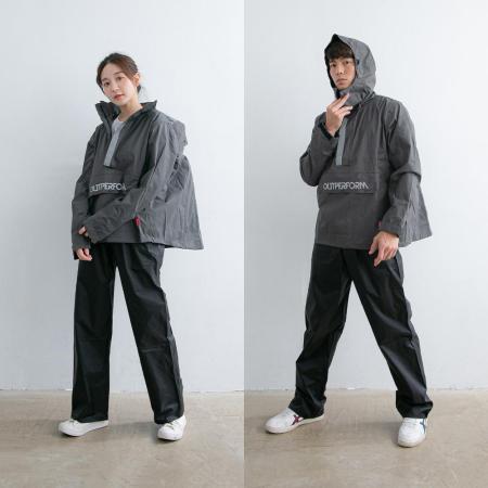 OutPerform 套式背包款衝鋒雨衣