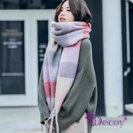 Decoy 加大流蘇保暖圍巾