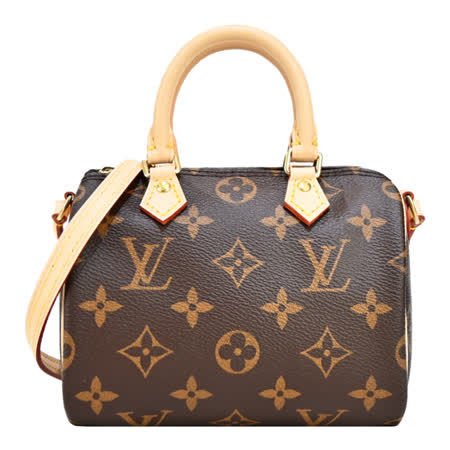 Louis Vuitton 帆布迷你手提斜背包