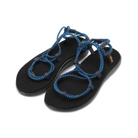 TEVA 羅馬織帶涼鞋 法國藍