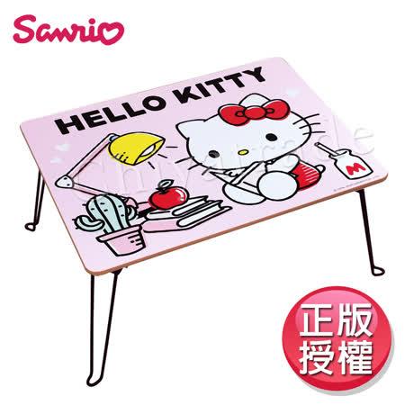 HELLO KITTY 凱蒂貓粉色摺疊桌