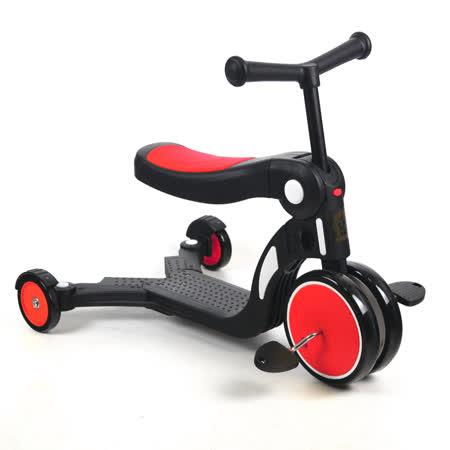 BabyBabe  三合一平衡三輪車