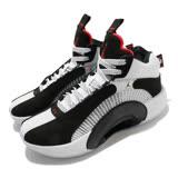 Nike 籃球鞋 Air Jordan XXXV 運動 女鞋 喬丹 避震 包覆 球鞋 大童 穿搭 白 黑 CQ9433001 CQ9433-001