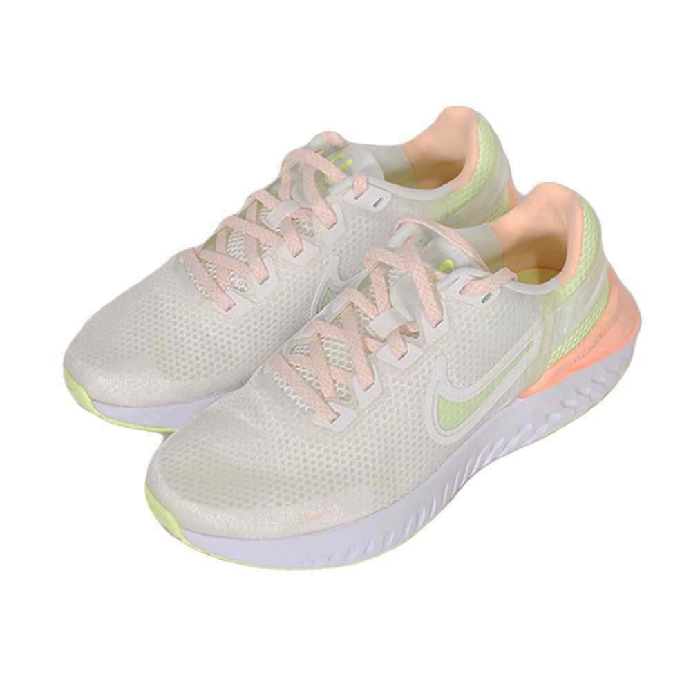 NIKE 女 WMNS NIKE LEGEND REACT 3 訓練健身 慢跑鞋 白粉綠 - CK2562100
