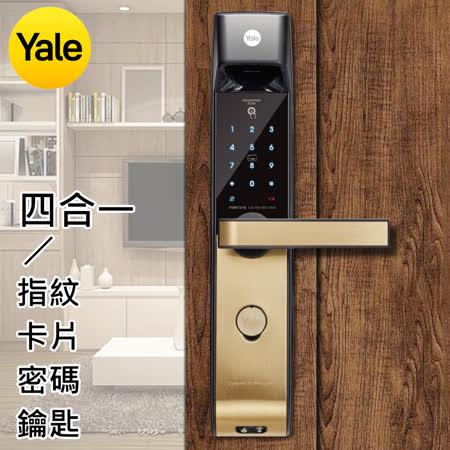 美國Yale耶魯 四合一 防盜電子鎖-YDM7216A