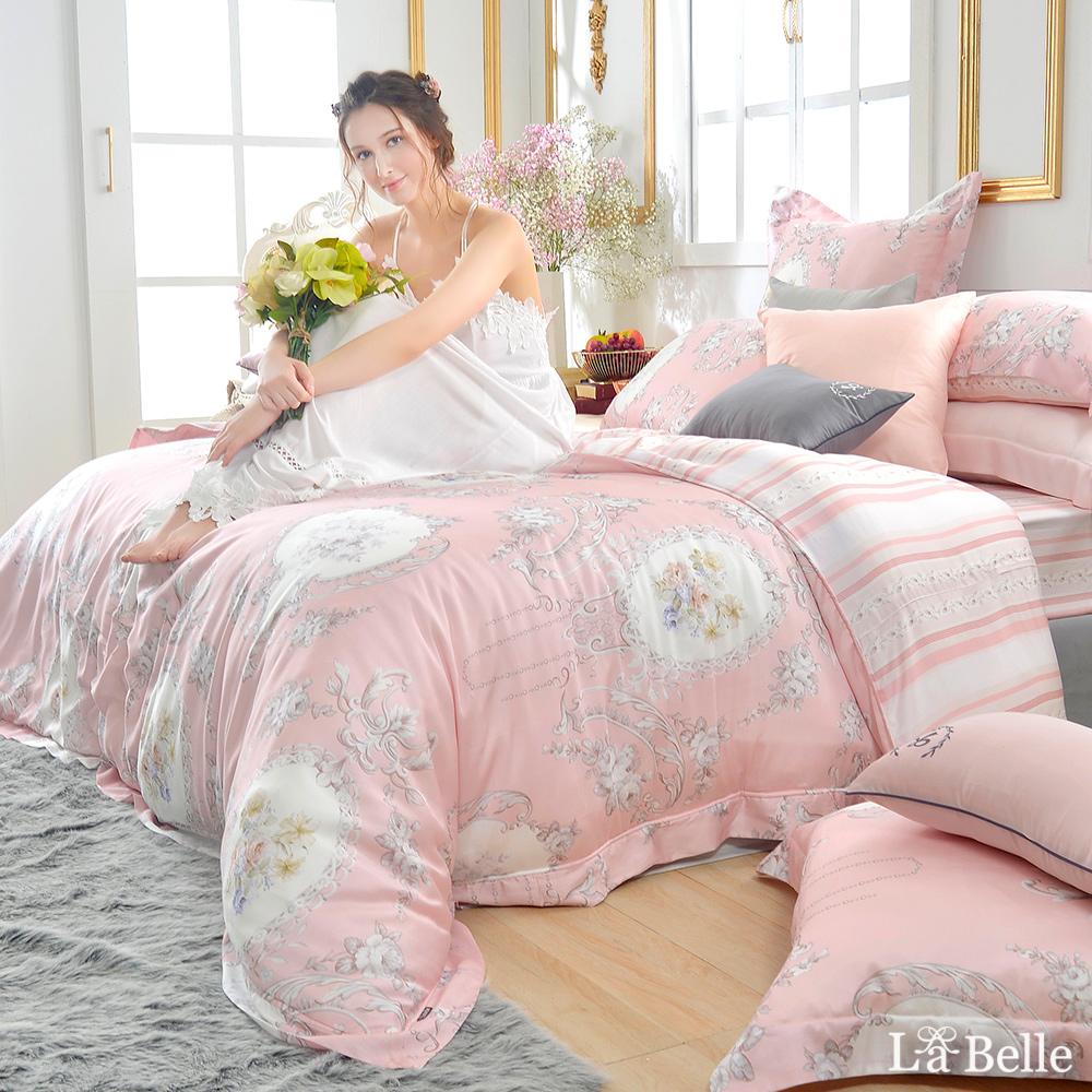 義大利La Belle《歐典娜》 雙人天絲防蹣抗菌吸濕排汗兩用被床包組