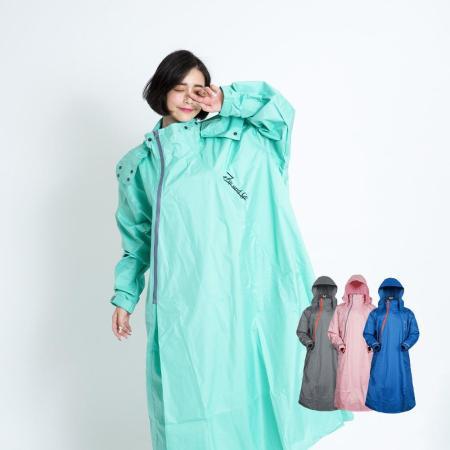 OutPerform 雙拉鍊專利連身式雨衣
