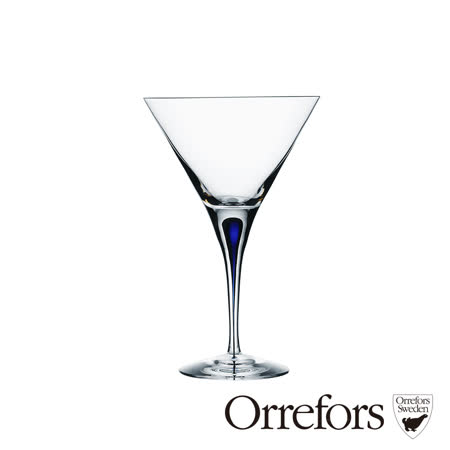瑞典Orrefors 藍色之舞馬丁尼杯250ml