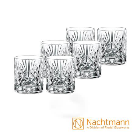 德國Nachtmann 宮廷威士忌杯(6入)-Palais