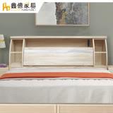 ASSARI-詩音房間組二件(插座床箱+床底)單大3.5尺