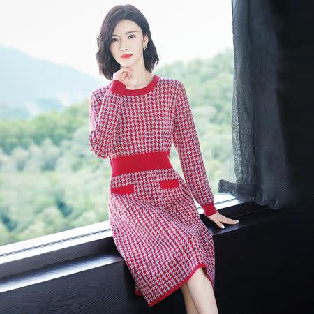 JISEN│最水 冬季優雅淑女洋裝
