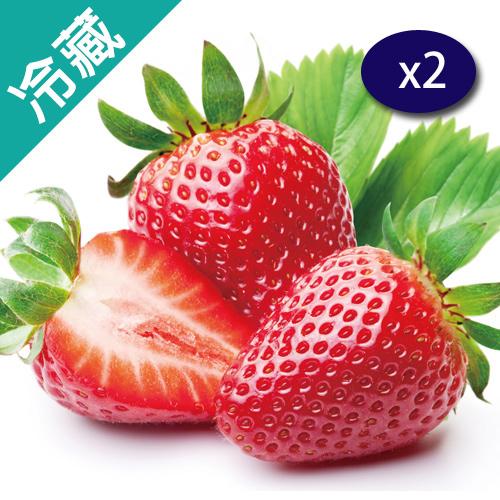日本草莓2盒/組X2(500G±10%/盤)