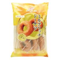 買一送一【丸中】 濃厚牛乳甜甜圈 6入270G