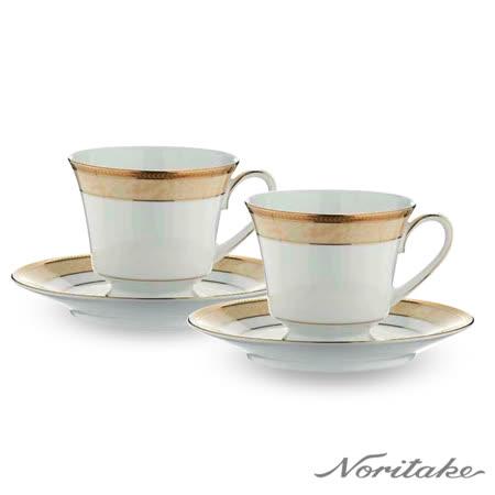 日本Noritake  愛戀古典咖啡對杯 (精美禮盒組)
