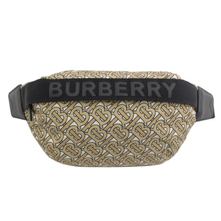 BURBERRY 專櫃款復古印花三用腰包